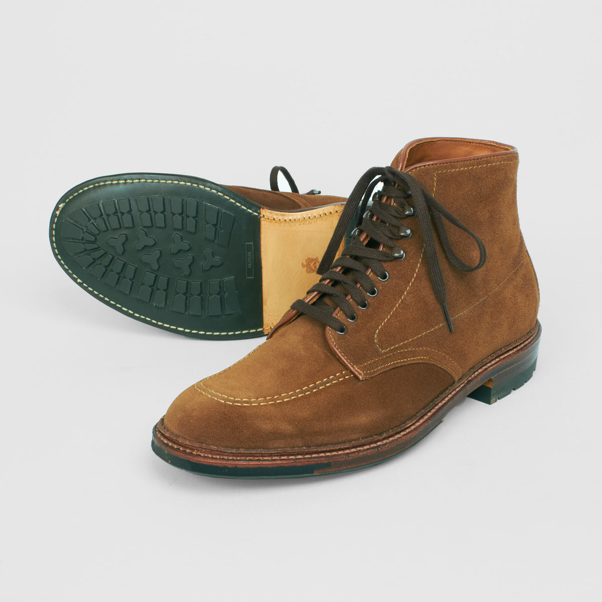 Alden Indy Boot Snuff Suede with Commando Sole