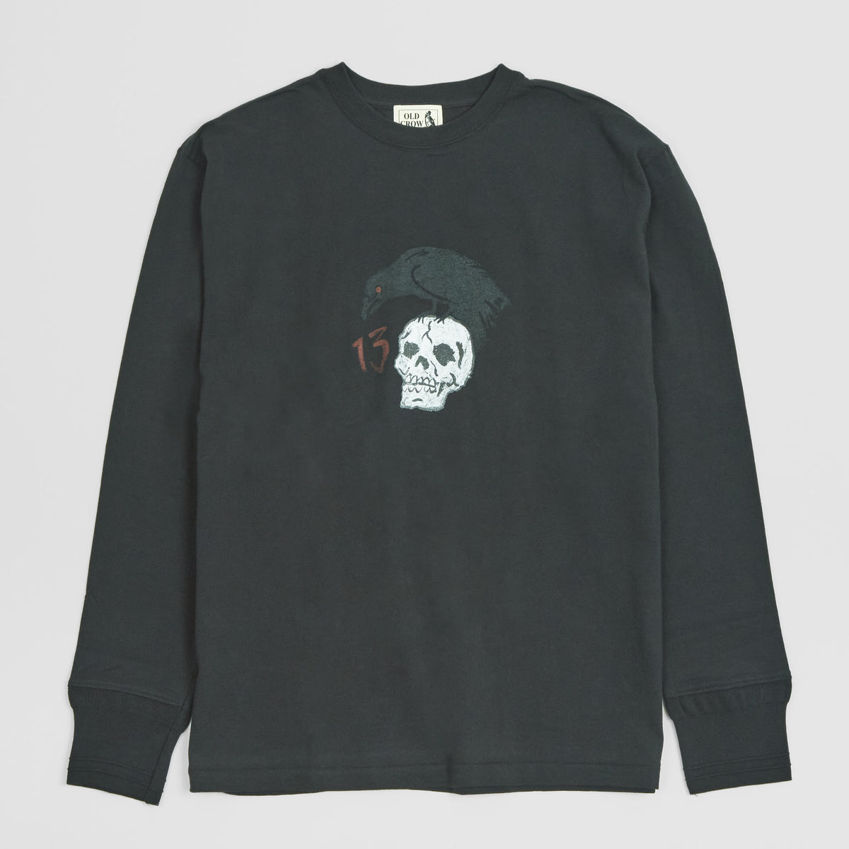 Old Crow Speed Shop by Glad Hand & Co. Long Sleeve Logo T-Shirt