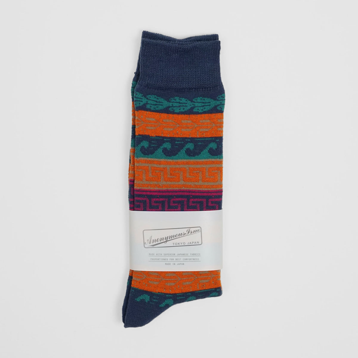 Anonymous Ism Long Socks Wave