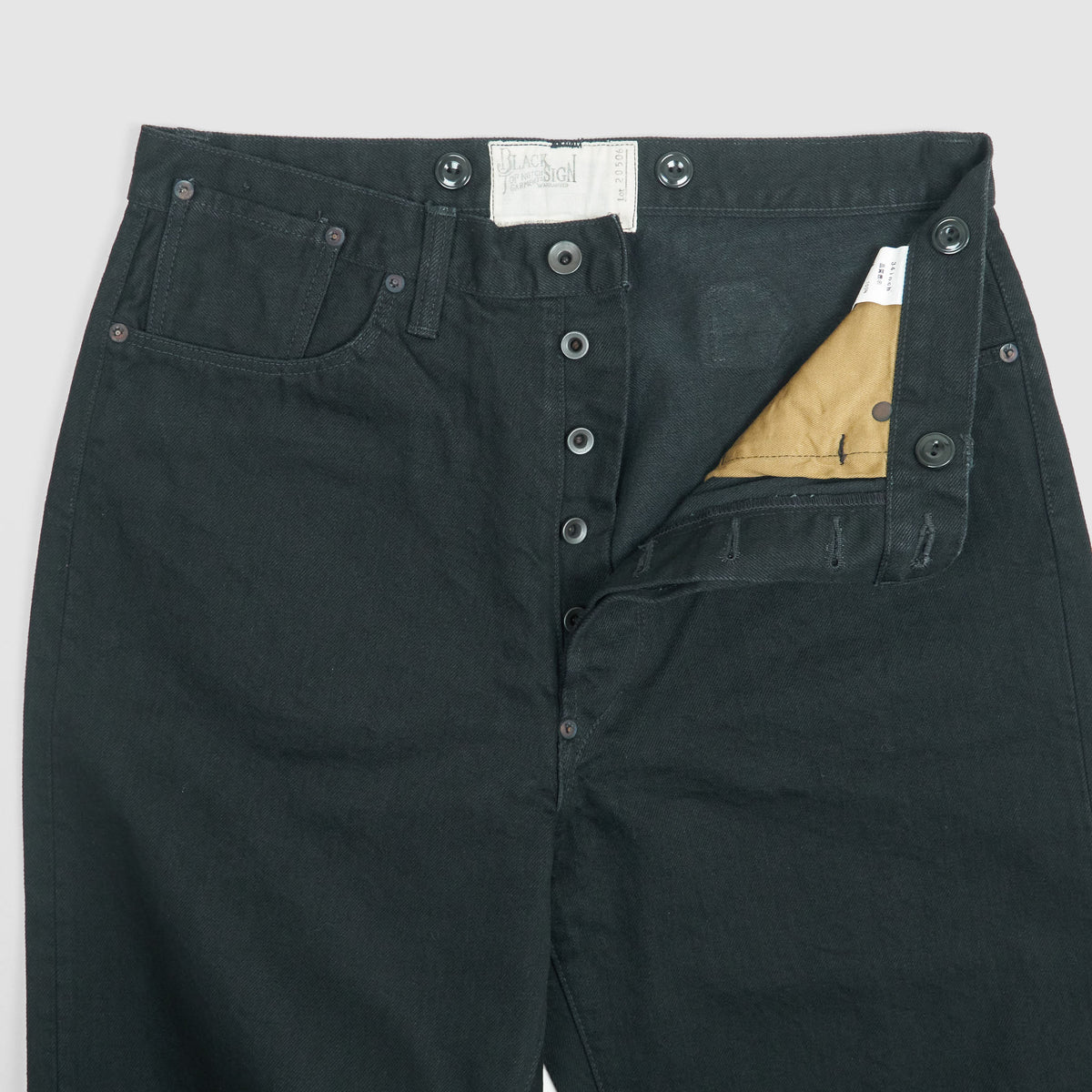 Black Sign Denim Type1 Black Denim Jeans
