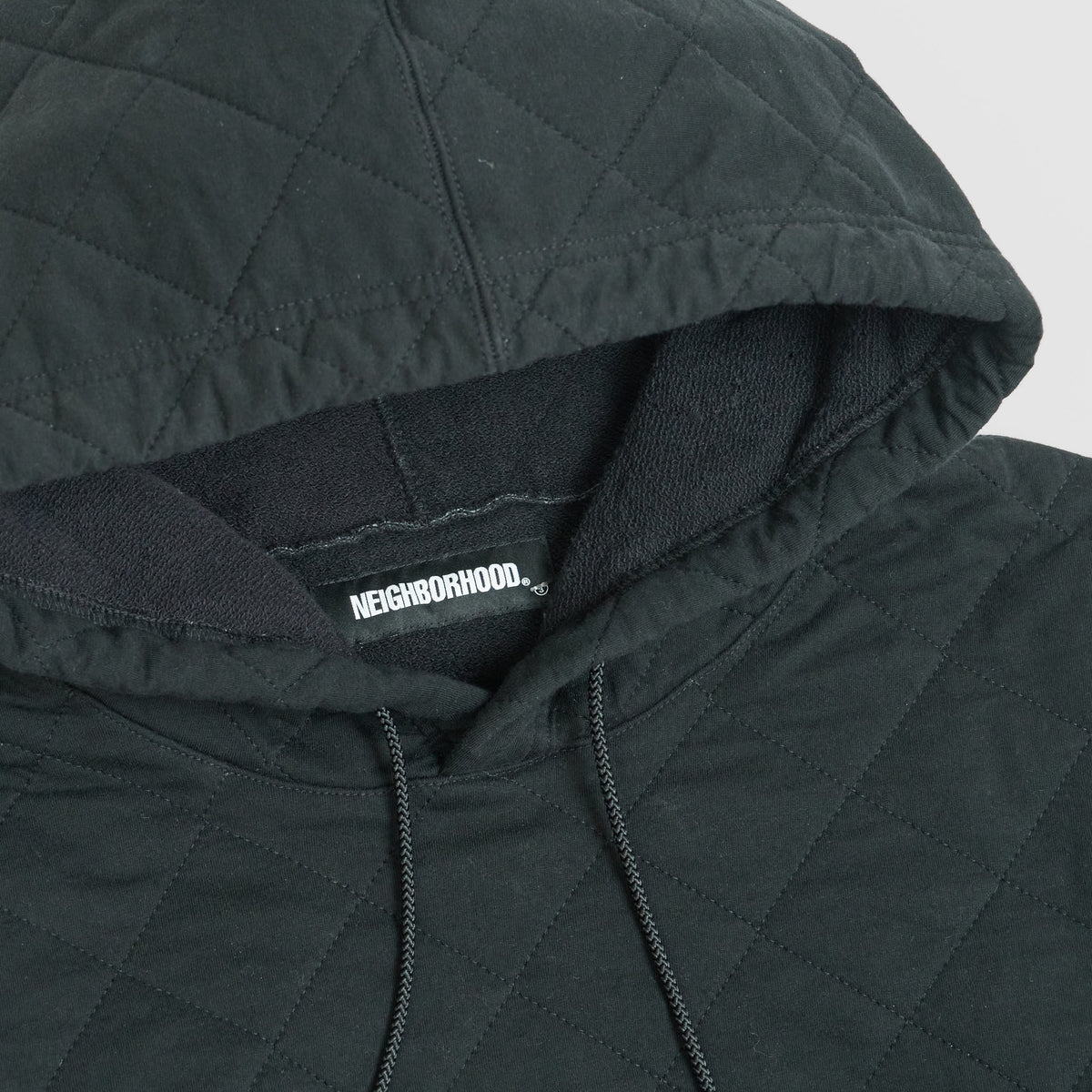 Neighborhood Quilted Hooded Sweat Shirt