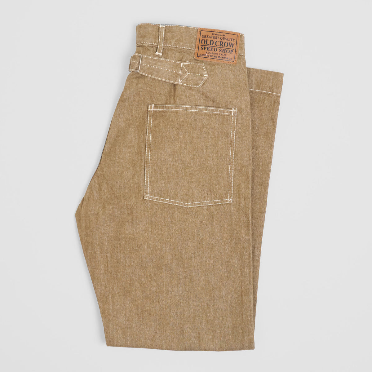 Old Crow Speed Shop by Glad Hand & Co. Baker Workpants
