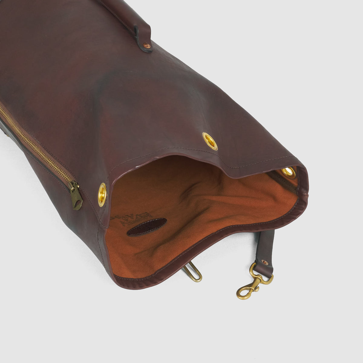 Vasco Leather Duffle Bag