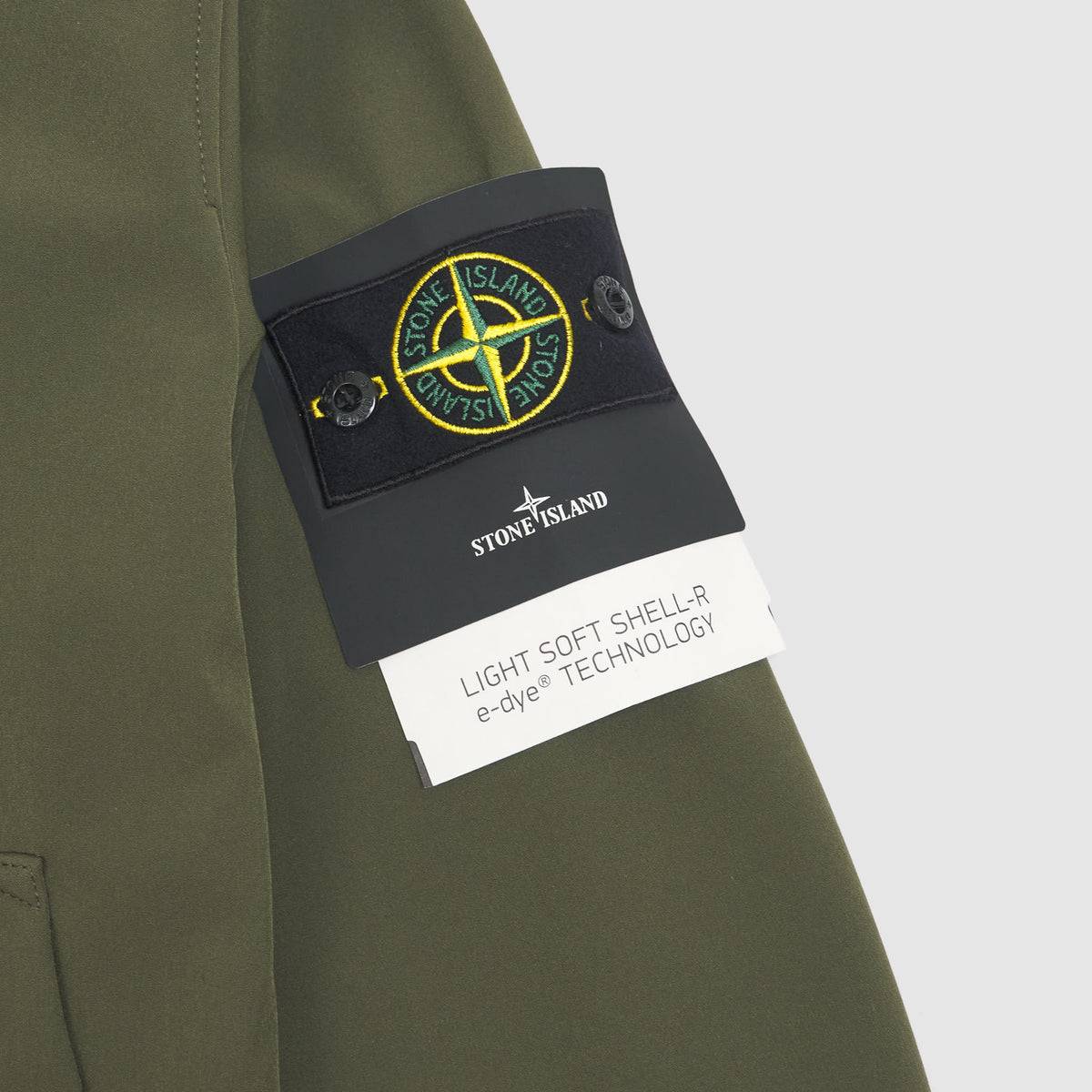 Stone Island Light Soft Shell-R e-dye Jacket