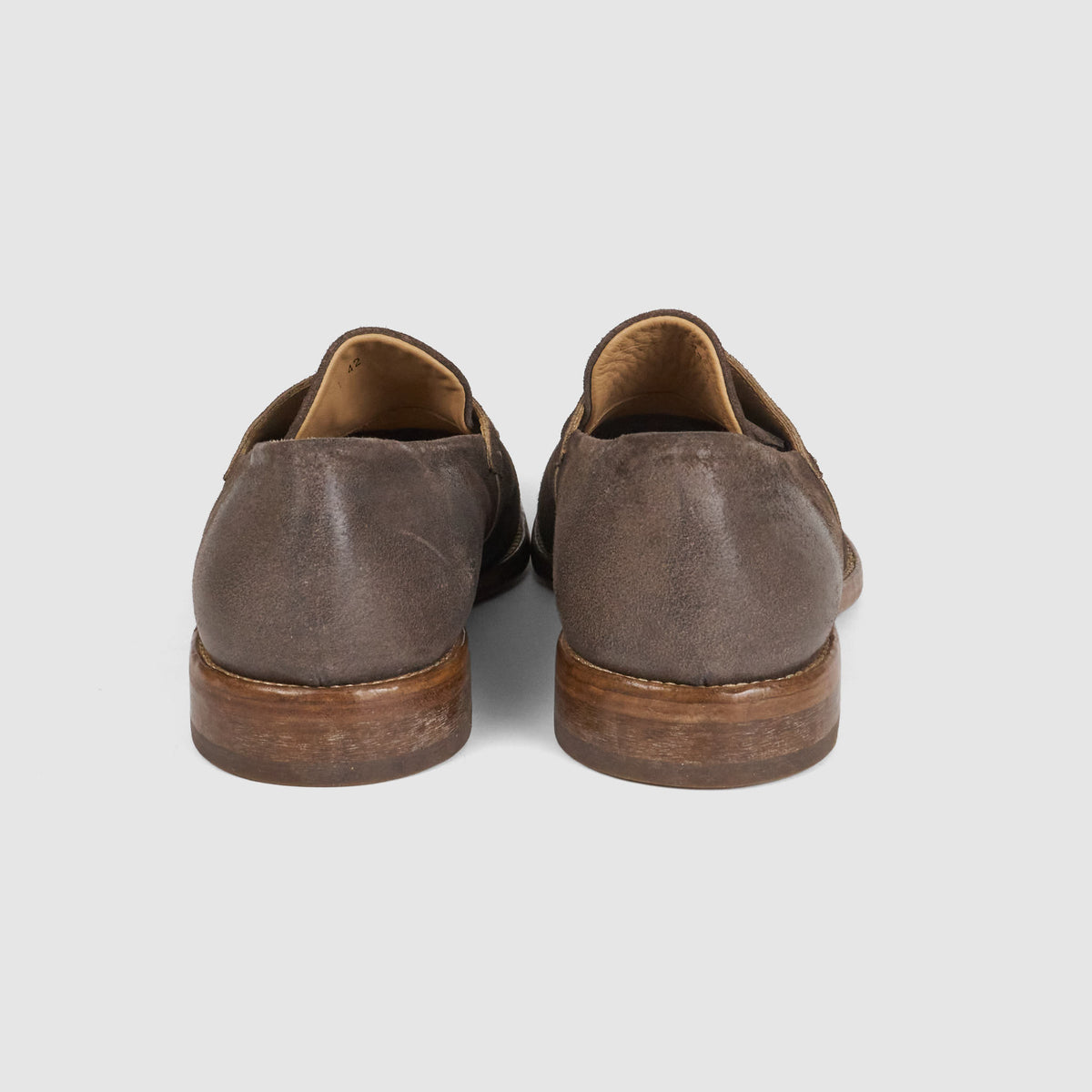 Moma Washed Leather Penny Loafer