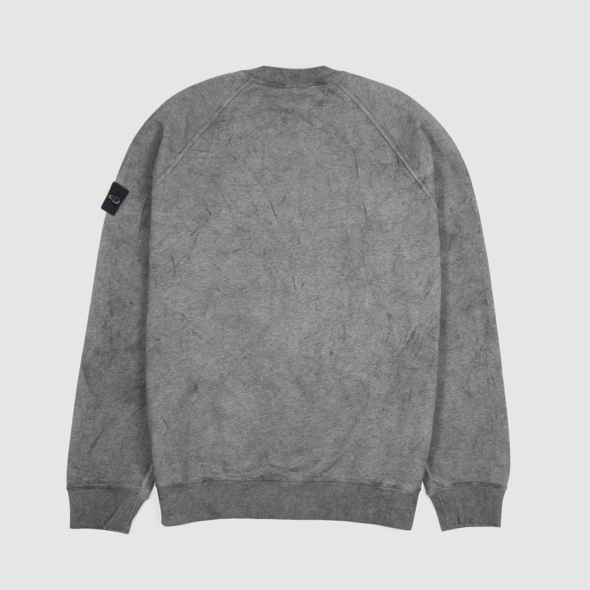 Stone Island Dust Color Crew Neck Sweatshirt