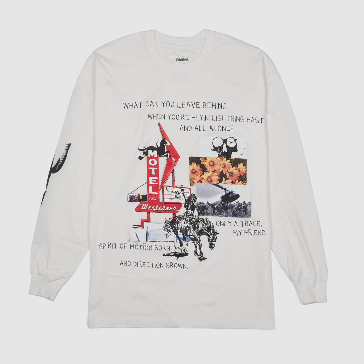 Neighborhood x ONE OD THESE DAYS by Matt McCormick Crew Neck Long Sleeves T- Shirt