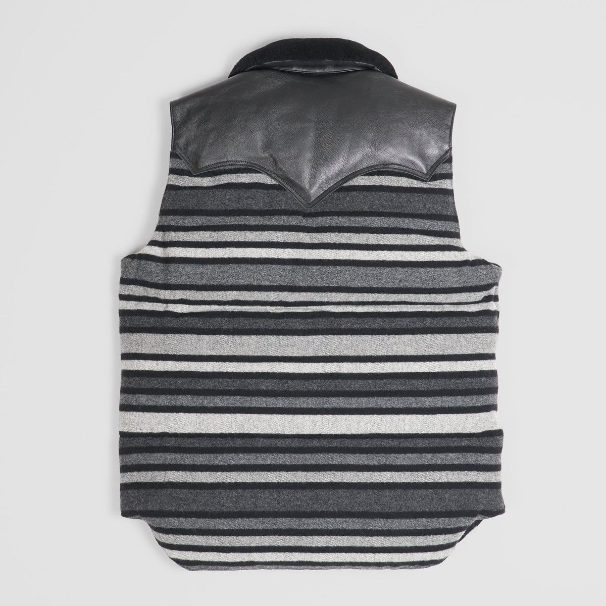 Rocky Mountain Featherbed Blanked Wool Down Vest