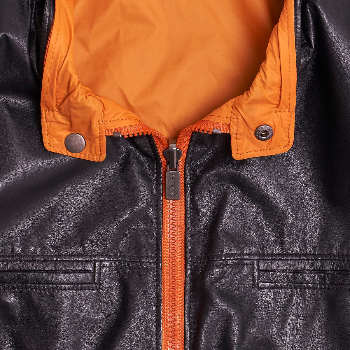Gimo's Reversible Lightweight Leather Jacket