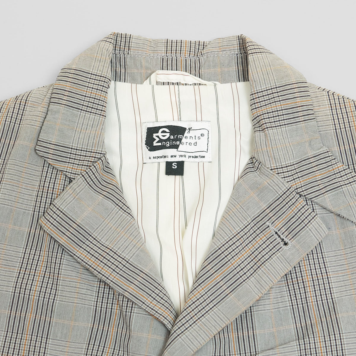 Engineered Garments Glen Plaid Blazer