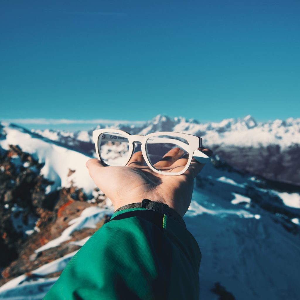 [Brand Story #6] UPTITUDE - A company that turns broken snowboards and skies into high-quality glasses