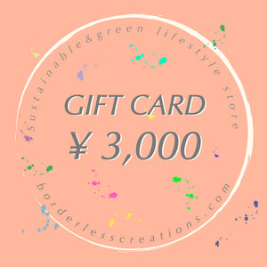 Gift Card : ¥3,000