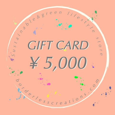 Gift Card : ¥5,000