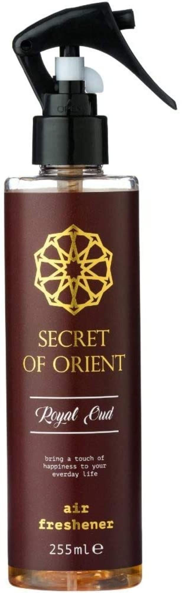 Spray Diffuseur d'ambiance Brumisateur - Secret of Orient 255 ml - Royal Oud & Rose