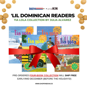 (PRE-ORDER) 'Lil Dominican Readers: Tia Lola Kids Holiday Collection English/Spanish