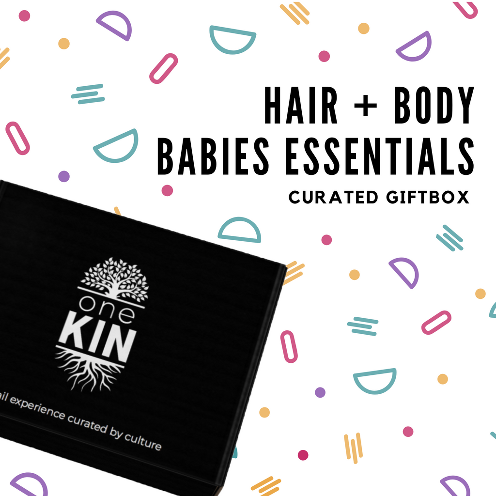 Babies Hair + Body Essentials Gift Box