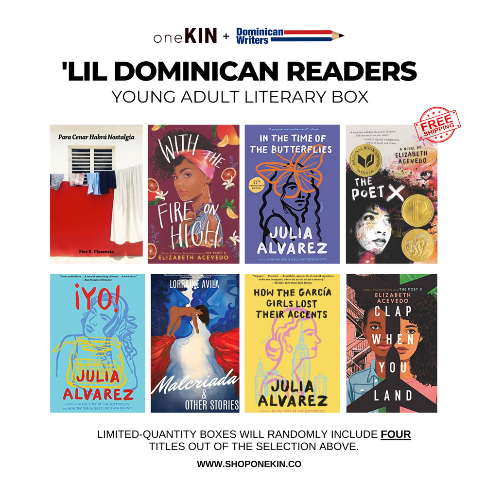'Lil Dominican Readers: Young Adult Literary Box (PRE-ORDER)