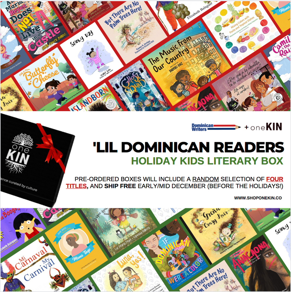 (PRE-ORDER) 'Lil Dominican Readers: Kid's Holiday Literary Box