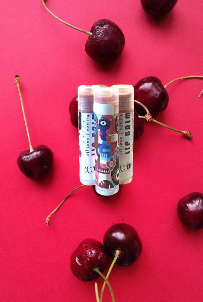 Load image into Gallery viewer, Cherry Organic Lip Balm