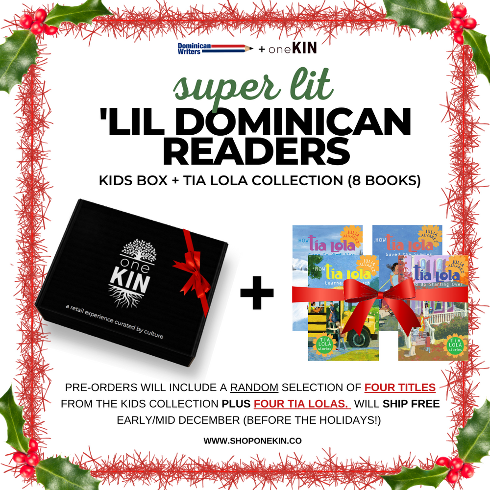 (PRE-ORDER) 'Lil Dominican Readers: Super Lit Kid's Holiday Box