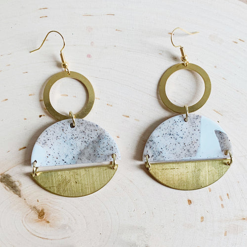 Mixed Media Earrings