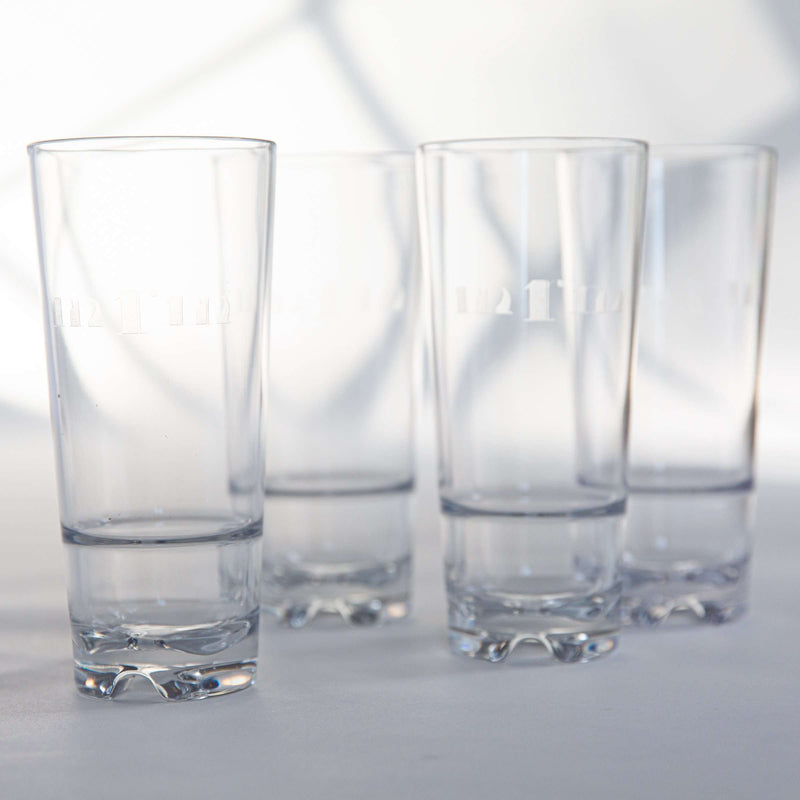 Goldfinch Acrylic Highball Set - WREN
