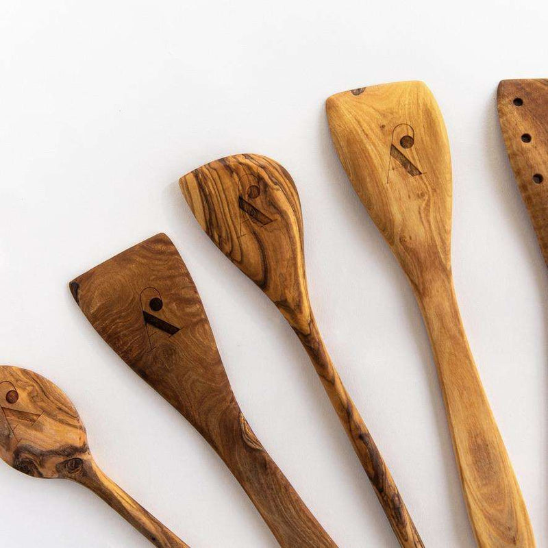 Theron Olive Utensil Set - WREN