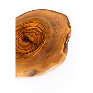 Theron Olive Wood Circular Board - WREN