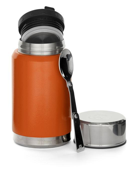 Husqvarna Insulated Food Can With Spoon 0.6ltr