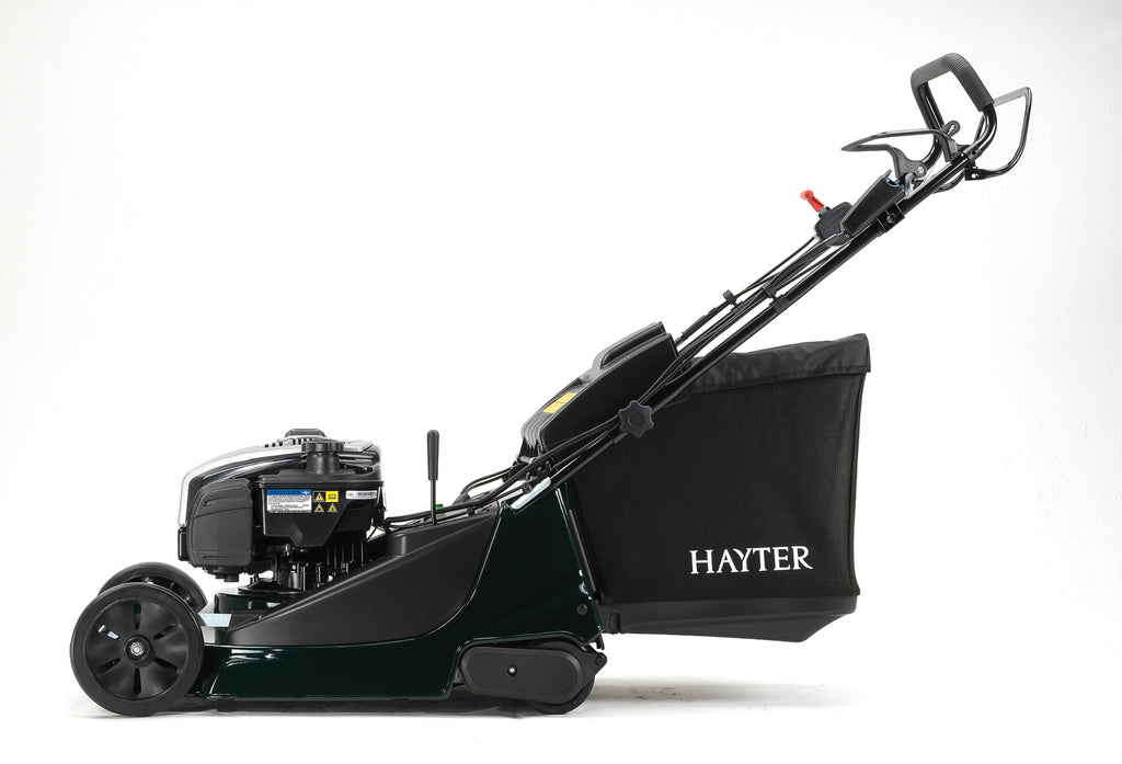 Hayter Harrier 48 cm Walk Behind Mower - With Electric Start, AutoDrive, Variable Speed and Blade Brake Clutch