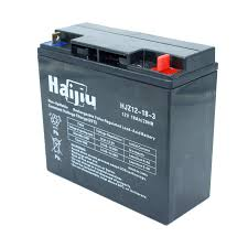 Stiga / Mountfield Parts - BATTERY 12V 18AH [HAIJIU]       Part Number:  118120007/0