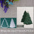 2019 New Arrival Christmas Tree Metal Cutting Die Stencil DIY Scrapbooking Embossing Decor Photo Album Paper Card Craft Makings