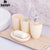 SDRISB Bath Accessories Wash Gargle Suit Bathroom Products Plain High Quality Plastic Shampoo Storage 4pcs Sets