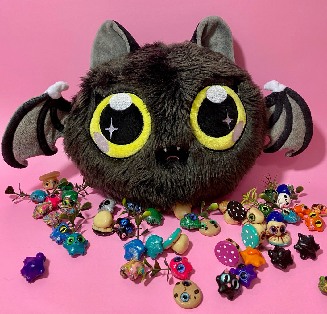 Bat Worry Wart Plush