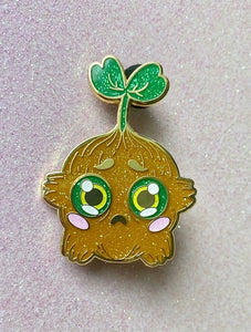 Planter Worry Wart Enamel Pin