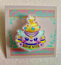 Load image into Gallery viewer, Kawaii Witch Acrylic Pin