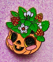 Load image into Gallery viewer, Jack-o-planter Enamel Pin