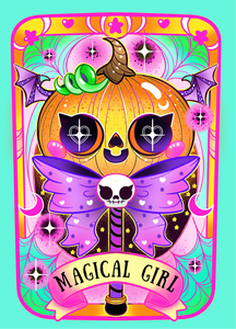 Magical Girl Mini Print