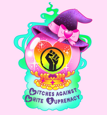 Witches Against White Supremacy Charity Sticker