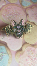 Load image into Gallery viewer, Baby Bat Enamel Pin