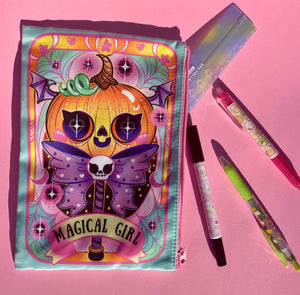 Magical girl zipper pouch