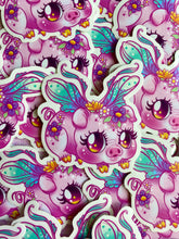 Load image into Gallery viewer, Faerie Pig Sticker