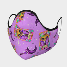 Load image into Gallery viewer, Dark Magical Girl Mask