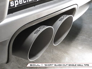 Porsche 718 Boxster / Cayman Bolt-On X-Pipe With Tips