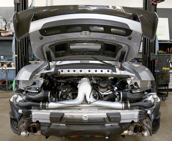991.2 Turbo/S/GT2RS IPD High Flow Y-Pipe