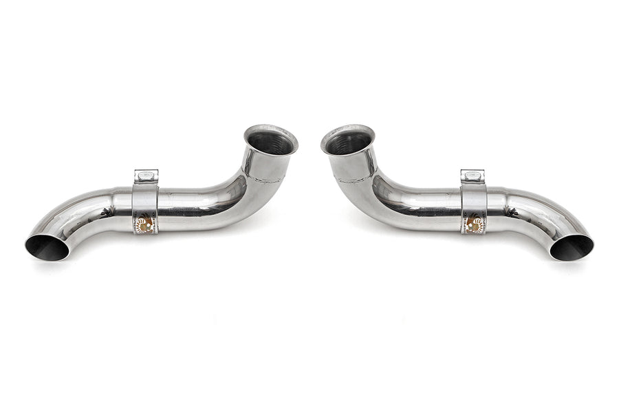 Porsche 996 GT3 Competition Muffler Outlets w/ Adjustable Turndowns