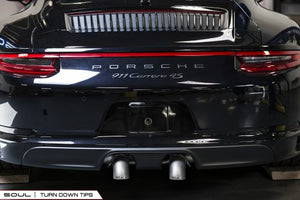Porsche 991.2 Carrera (with PSE) Bolt On Exhaust Tips