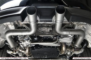 Porsche 991.2 Carrera (with PSE) Trackback Turbo Back Exhaust