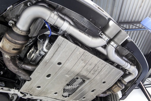 Porsche 991 GT3 / 911R Valved Side Muffler Bypass Pipes