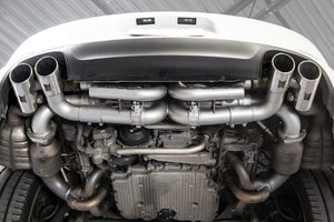 Porsche 991.1 Base with PSE / S / GTS Carrera Valved Performance Exhaust System